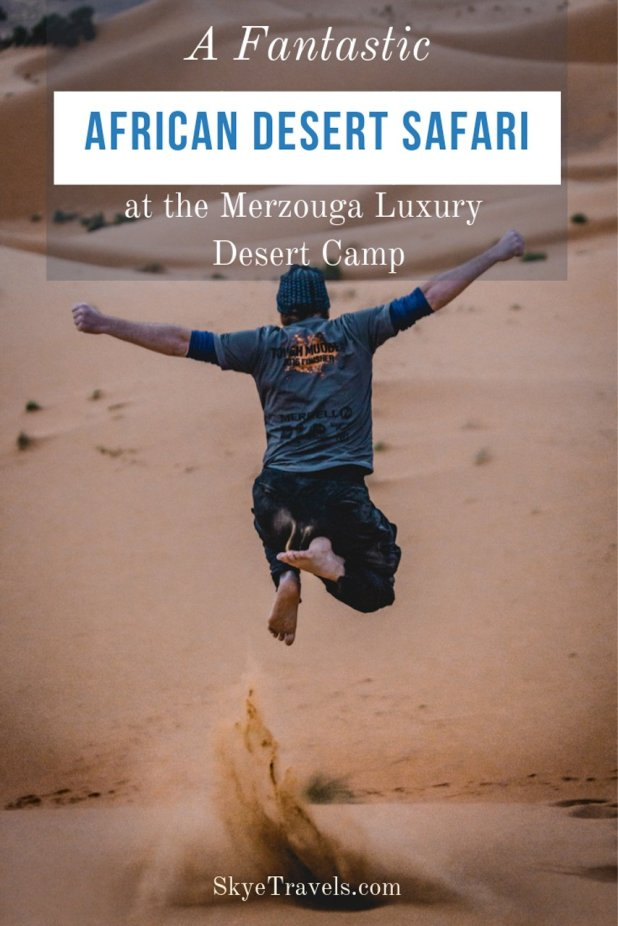 Of all the excursions available from Marrakech in Morocco, I'd recommend the African desert safari above all others. But what can you do in a giant desert? #AfricanDesertSafari #Merzouga #MerezougaLuxuryDesertCamps #TISMarrakech #VisitMarrakech #VisitMorocco #Africa