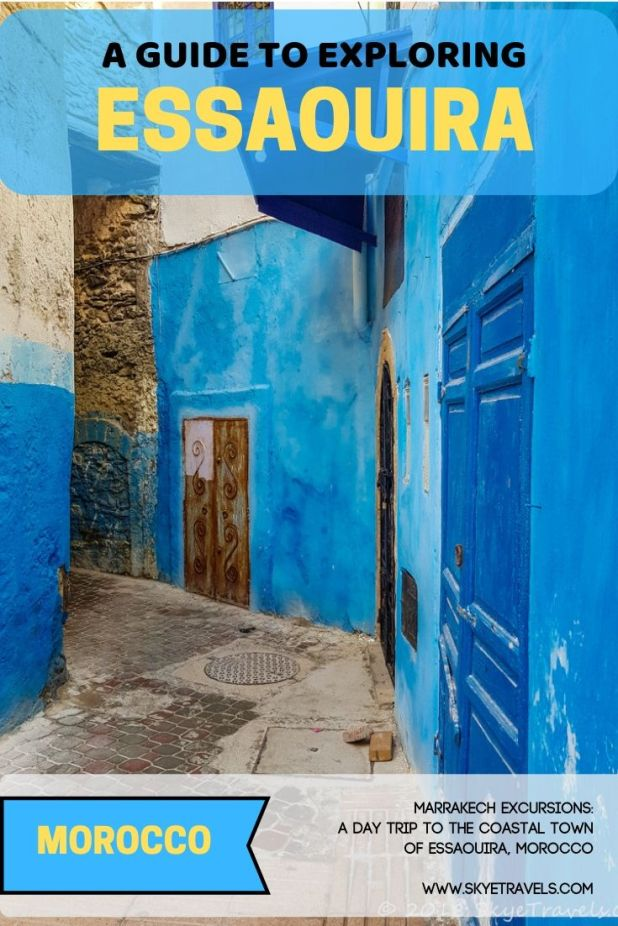 When I booked a tour to Essaouira in Morocco, I\'m ashamed to say that I actually knew nothing about it. Well, there certainly is lots to see there. #Essaouira #TISMarrakech #VisitMarrakech #VisitMorocco #TimeOutSociety #Morocco #Africa #BlueCity