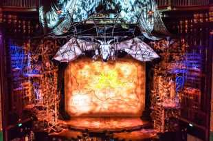 Wicked Stage at the Apollo Theater in London's West End