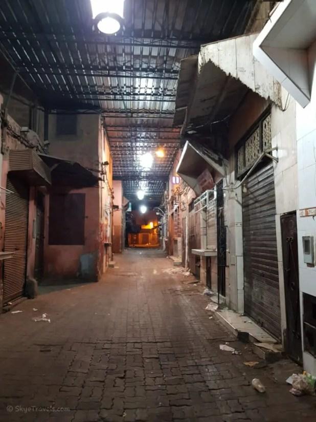 Marrakech Kasbah at Night