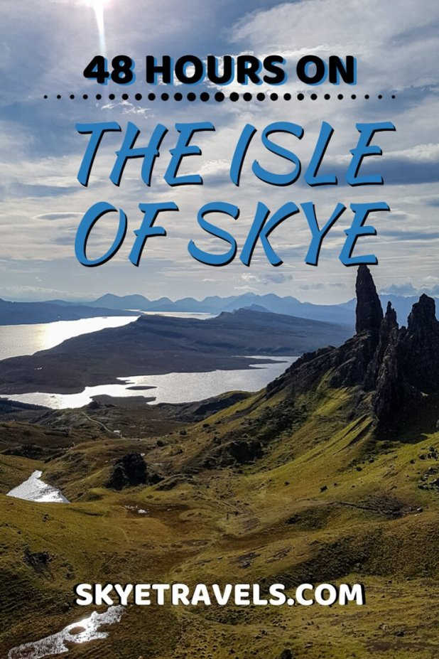 48 Hours on the Isle of Skye Pin