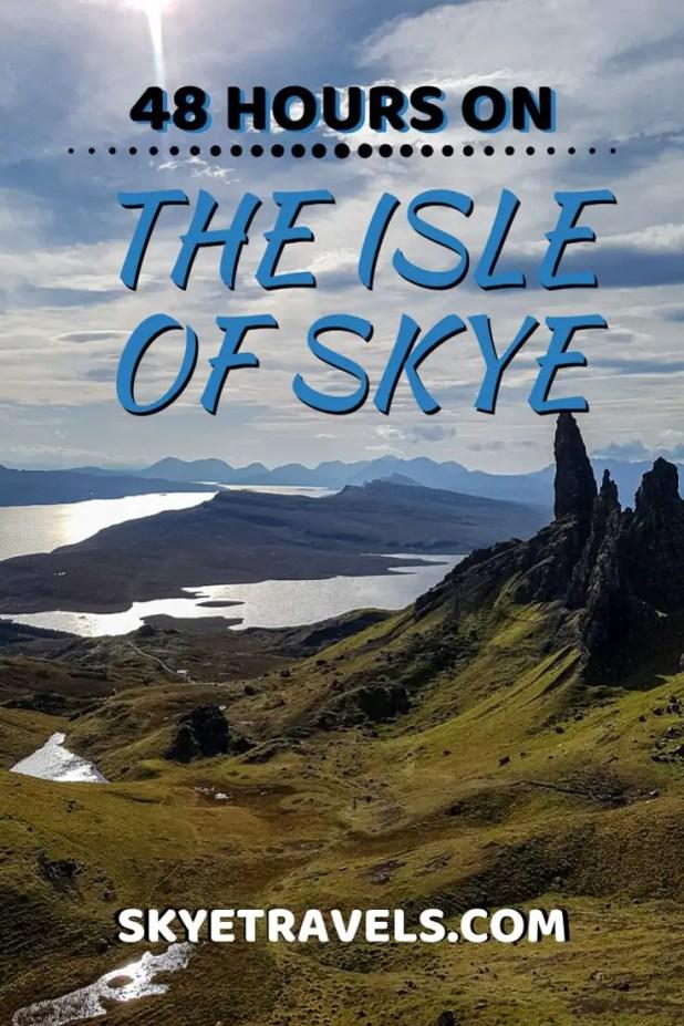 48 Hours on the Isle of Skye Pin