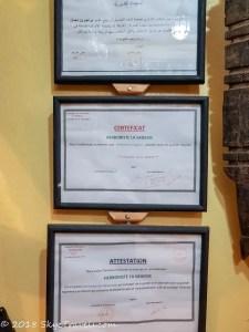Herbalist Shop Certificates