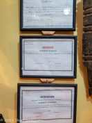 Herbalist Shop Certificates