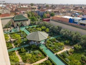 Maarrakech Secret Garden Tower View