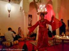 Restaurant Dar Zellij Candle Dancer