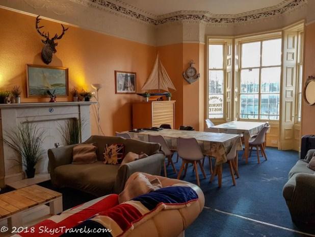 St Andrews Tourist Hostel Common Room