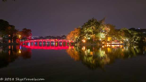Ngoc Son Temple on Hoan Kiem Lake