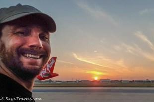 Seflie on Plane to Vietnam