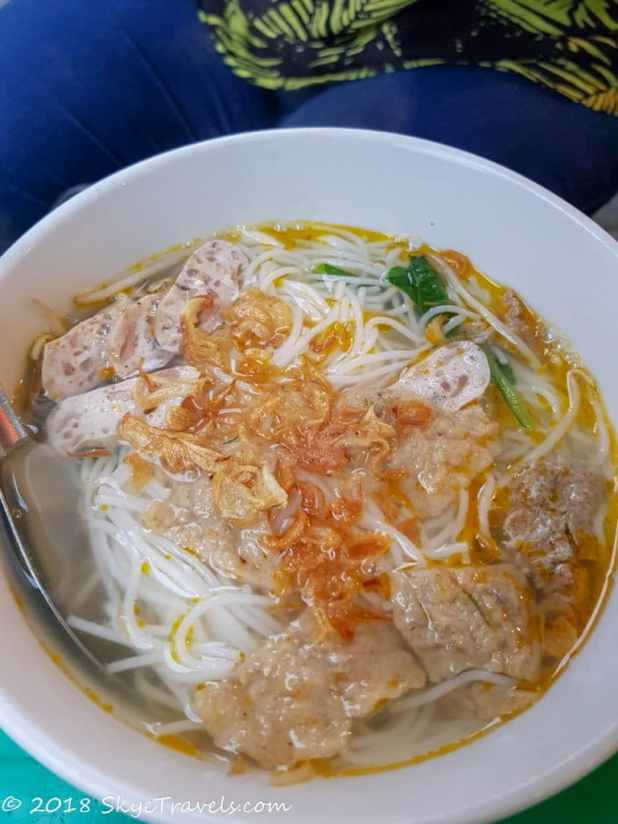 Bún Riêu Cuan Soup