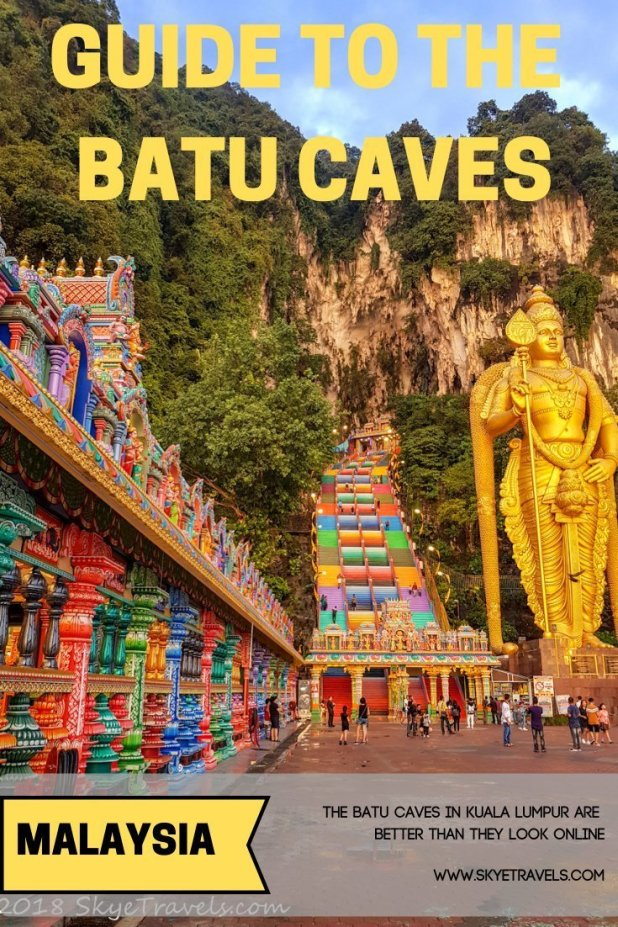 Batu Caves Pin
