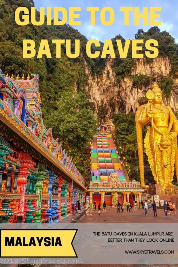 The Batu Caves in Kuala Lumpur are the most popularHindu shrinesoutside of India. They have a level of beauty and wonder on par with Pandora. #VisitMalaysia #BatuCaves #HinduShrine #Avatar #Attractions #KualaLumpur