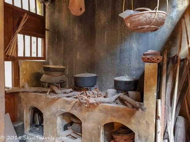Hanoi Ancient House Kitchen