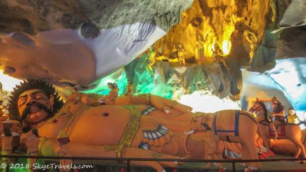 Batu Caves Ramayana Cave