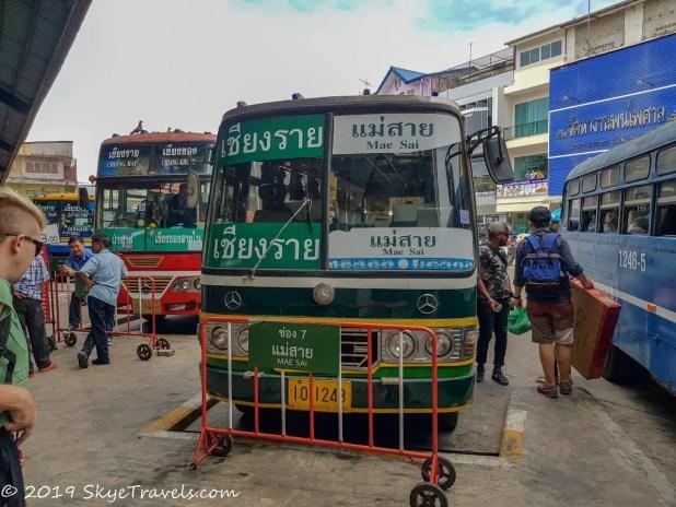 Buses in Chiang Rai