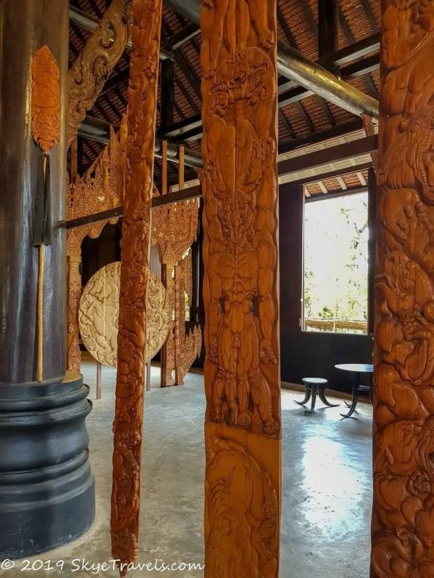 Black House Museum Main Building Tapestries