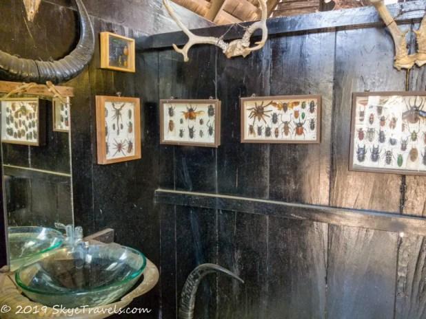 Black House Museum Women's Bathroom