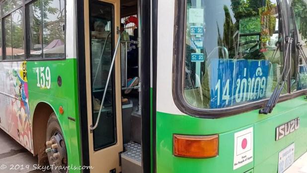 14 Bus to Buddha Park