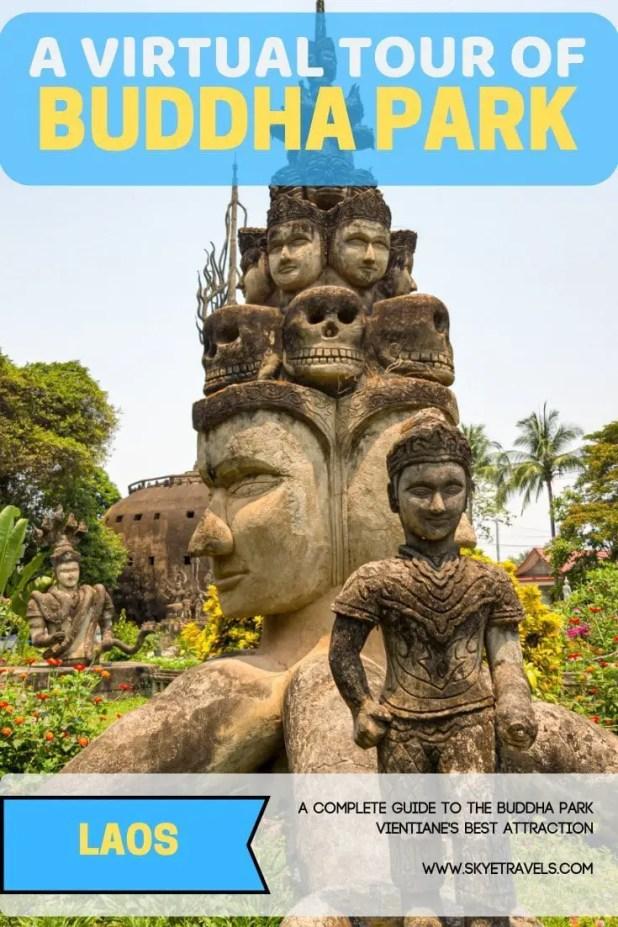 Buddha Park Pin