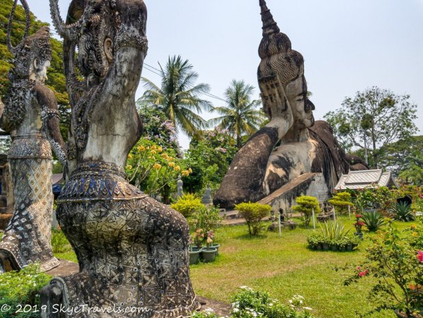 Buddha Park Statues #3
