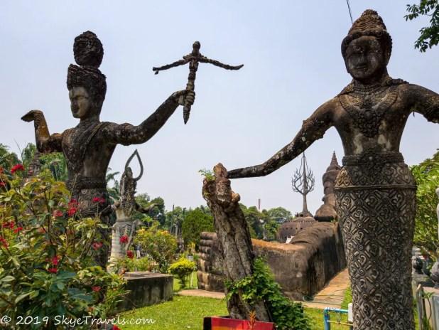 Buddha Park Statues #35