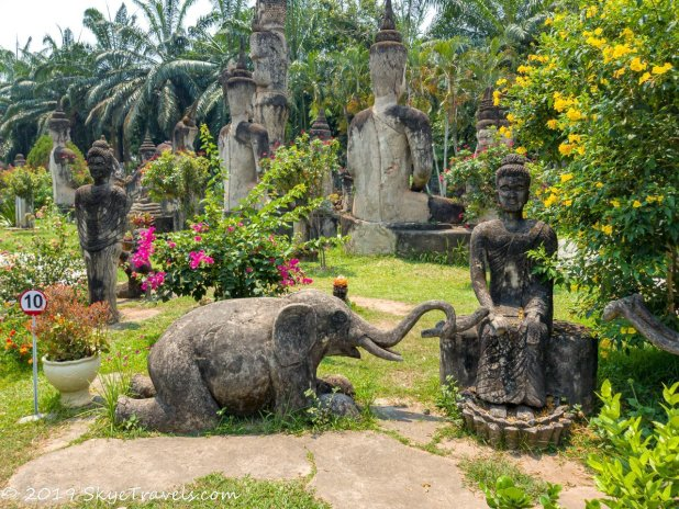 Buddha Park Statues #9