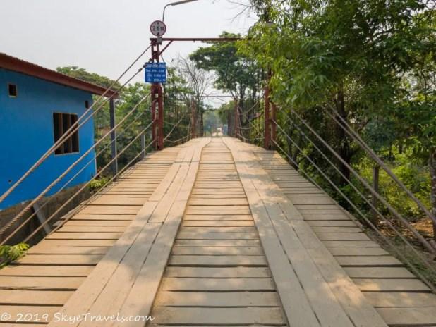 Toll Bridge Across the Nam Song River