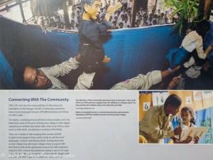 UXO Museum Information Board #3