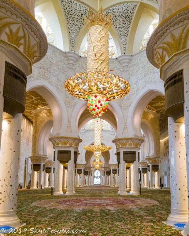 Grand Mosque Main Prayer Room