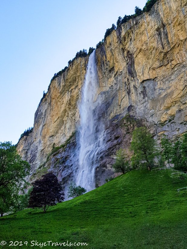 Staubbach Waterfall in Switzerland