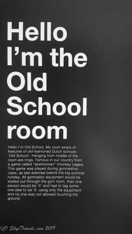 Old School Room Info