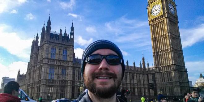 Selfie at Big Ben #3