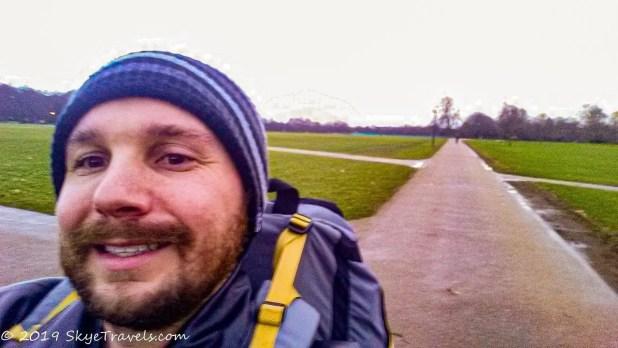 Selfie in Hyde Park