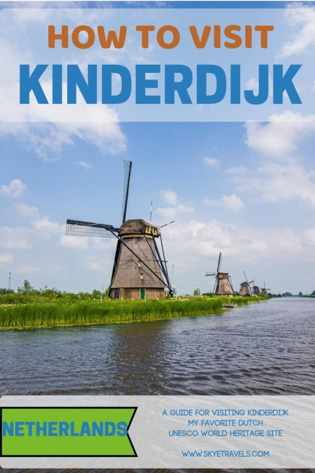 Visit Kinderdijk Pin
