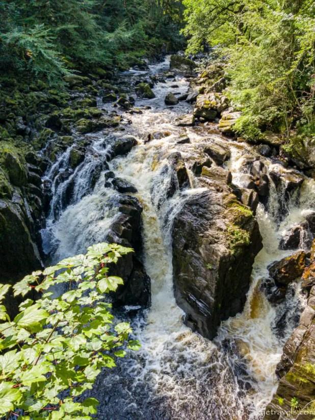 Black Linn Falls at the Hermitage Walk
