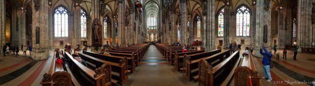 Interior of the Cologne Dom Panorama