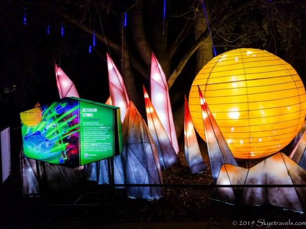 Meteor Strike Lanterns