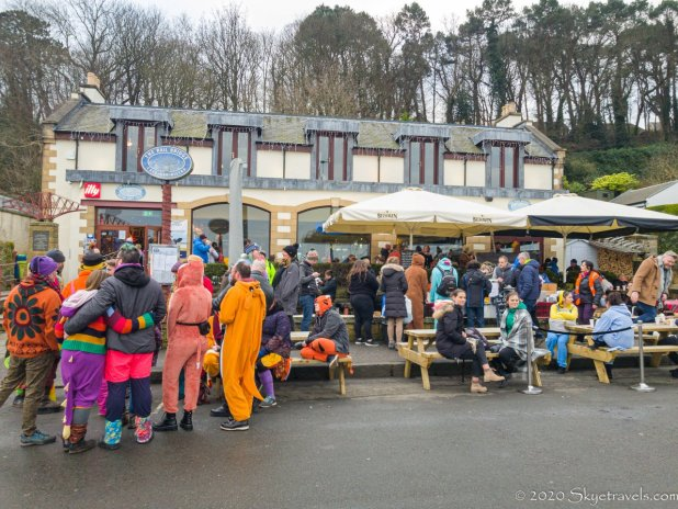 Refreshments at Loony Dook 2020