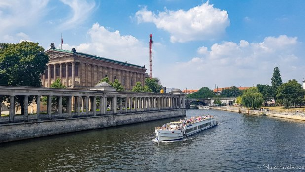 Cruise on the Spree River in Berlin