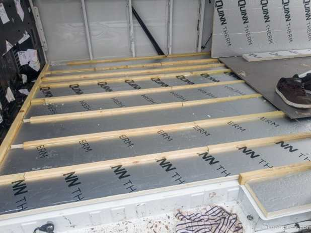 Van Floor Insulation