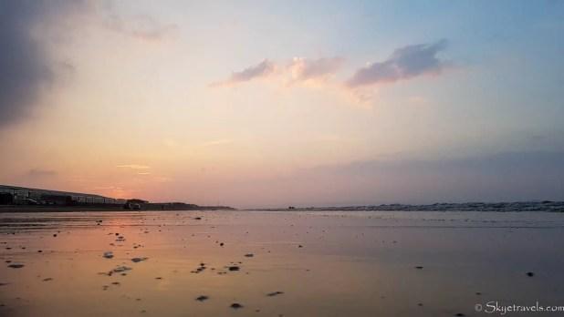 Portebello Beach at Sunset
