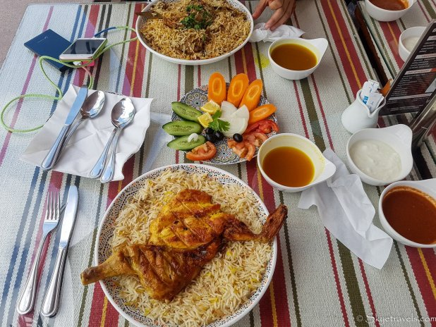 Arabic Lunch at Halla Al Yamama Mandi