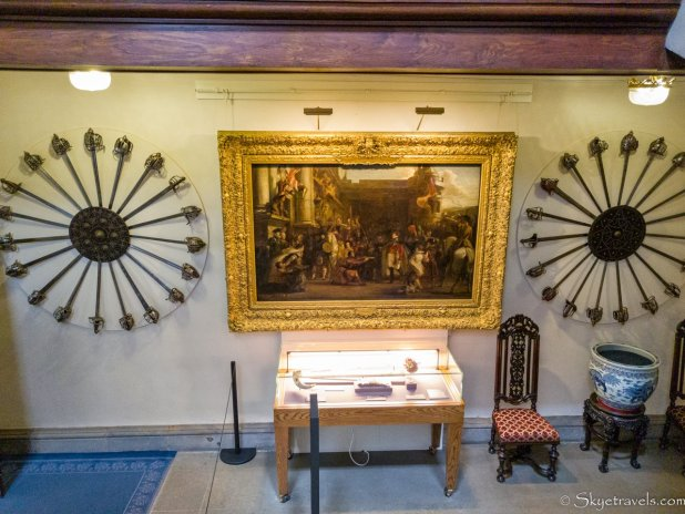 Holyrood Palace Great Staircase Displays