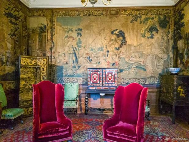Holyrood Palace King's Closet