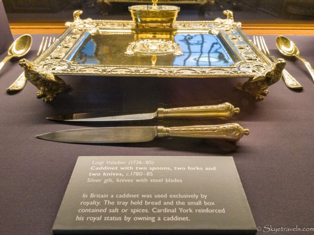 Holyrood Palace Ante-Chamber Artifacts #1