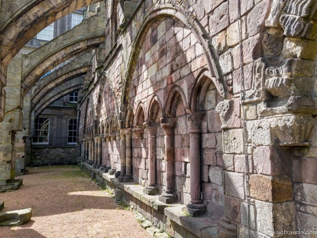 Holyrood Abbey Flying Buttresses