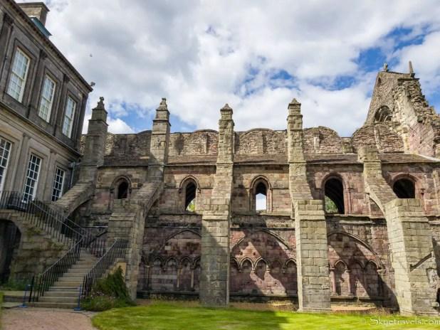 Holyrood Abbey South Face