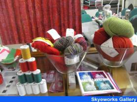Scottish Arts and Crafts gifts at Skyeworks Gallery in Portree, Isle of Skye