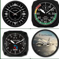redcellardoor aviation clocks