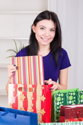 Planning Ahead - wrap gifts before the day of the event so you know you have everything you need.